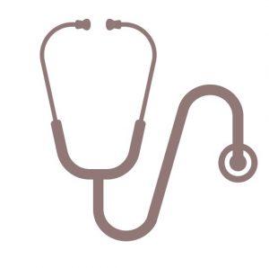 Infekte ganzheitlich behandeln - Stethoskop