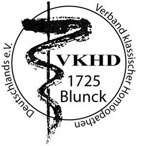 Verband klassischer Homöopathen Deutschland - VKHD - Stempel